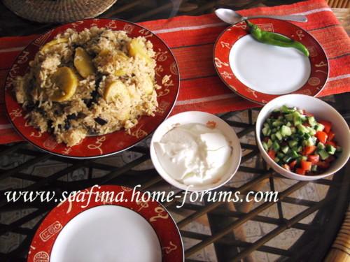 Маклюбе - Маклюбе (маглюбе) по-иордански (курица, баклажан, картофель, рис). Арабская кухня - Страница 2 Imag0720