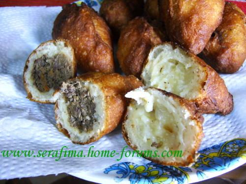 пирожки - Пирожки с картошкой и луком, с печенью и легким Imag1012