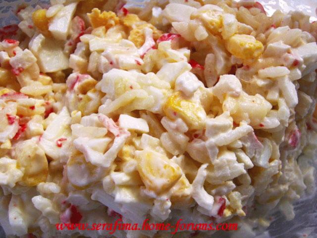 Салат с крабовыми палочками Imag1414