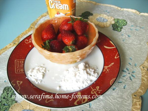Йогурт с клубникой и медом Imag1615