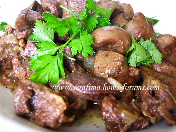 легкие - Баранья печень, легкие и сердце тушенные с нутряным жирком Imag1625