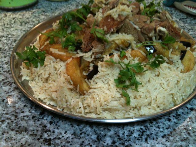 - Маклюбе с мясом. Арабская кухня Img01910