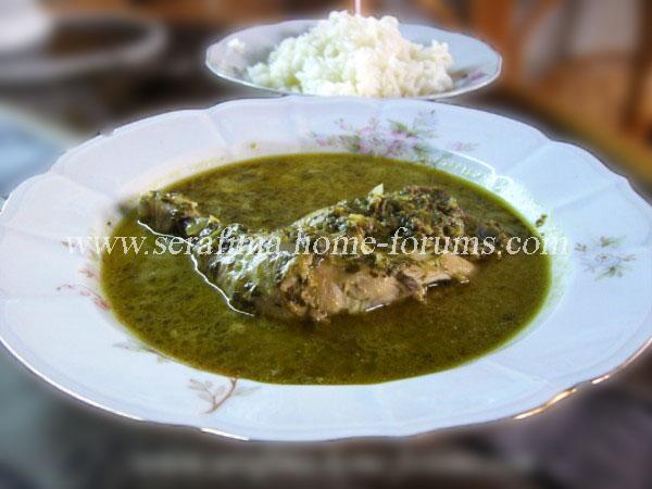Курица с обалденным шпинатным соусом Kura10