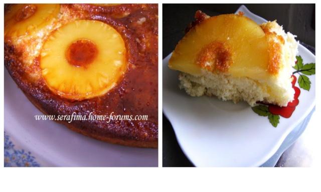 Ананасовый пирог-перевертыш с карамелью Untitl10