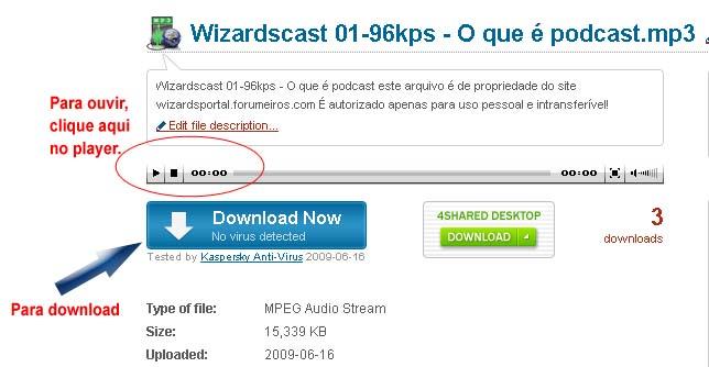 Wizardscast nº 03 - 1 Ano de Fórum - Página 2 Comoou10