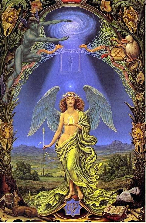 Comment travailler avec les anges A_111111