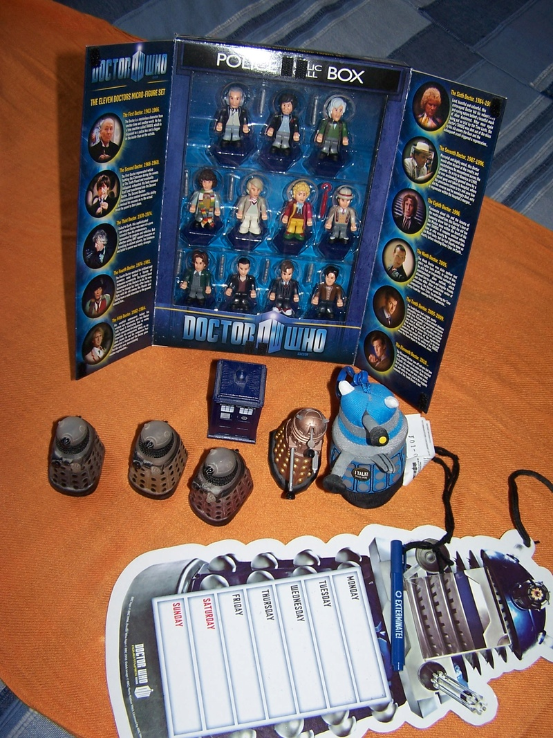 Ma collection Doctor Who 100_1620