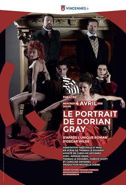 Le Portrait de Dorian Gray, adaptation théâtrale Affich10