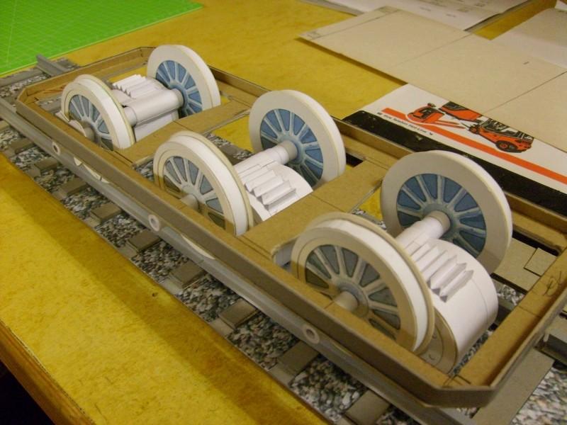 E-Lok  Baureihe 251 Maßstab 1:25 Eigenbau gebaut von klebegold 109k10