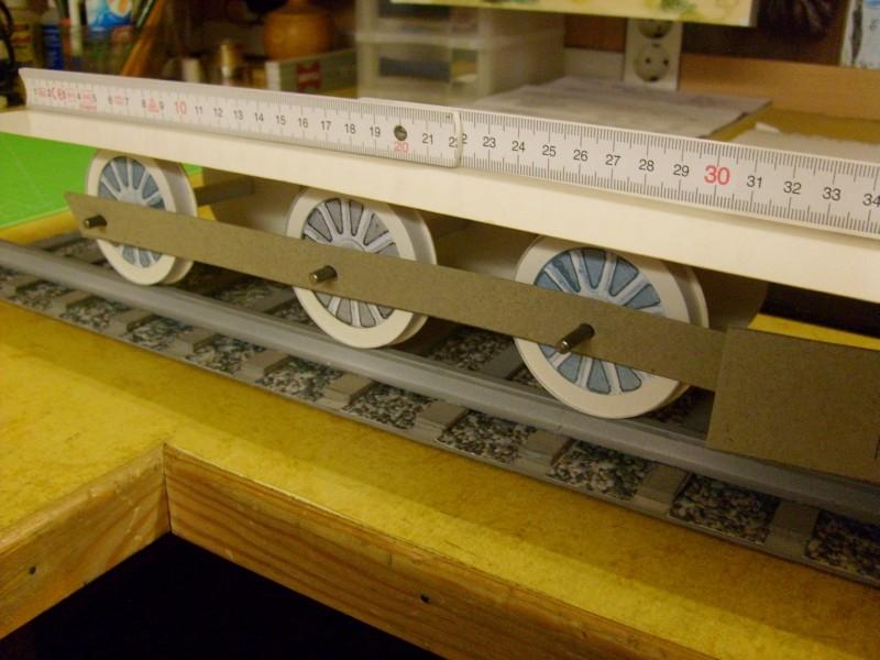 E-Lok  Baureihe 251 Maßstab 1:25 Eigenbau gebaut von klebegold 85k10