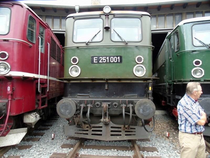 E-Lok  Baureihe 251 Maßstab 1:25 Eigenbau gebaut von klebegold 95k10