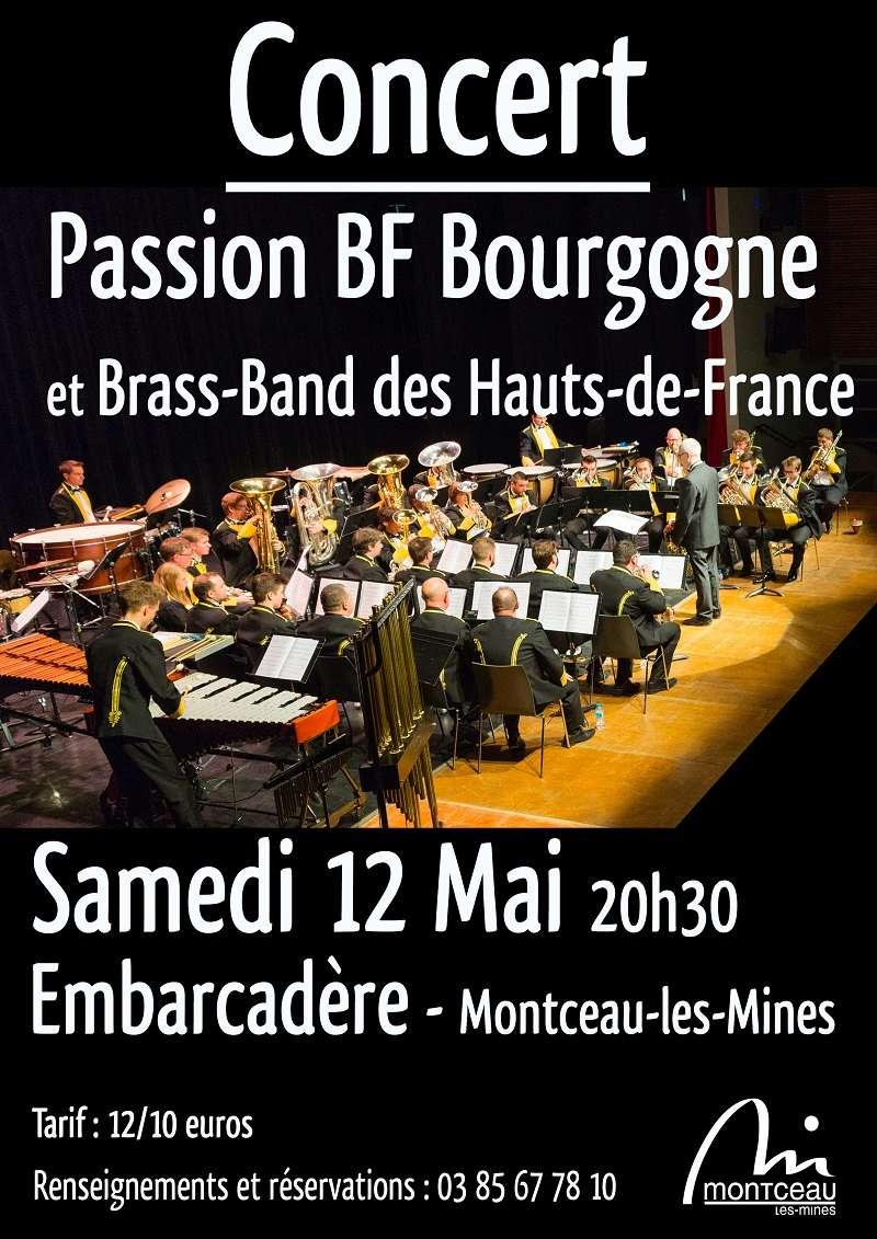 Passion Bourgogne partage la scène avec le Hauts-de-France Brass Band Affich11