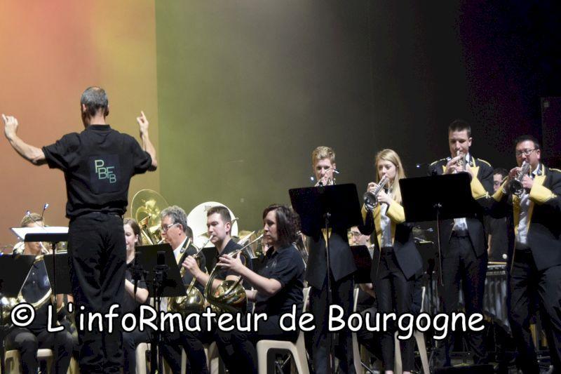 Passion Bourgogne partage la scène avec le Hauts-de-France Brass Band Concer10
