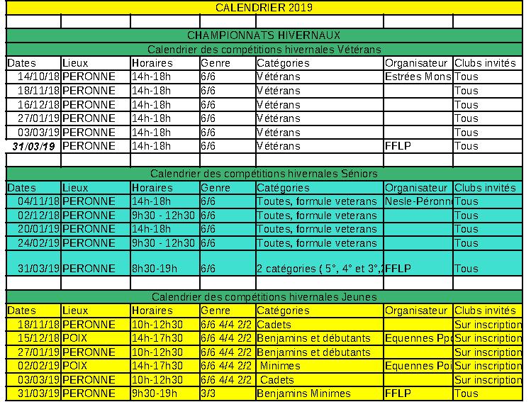 Calendrier compétitions hivernales 2018-2019 Calend14