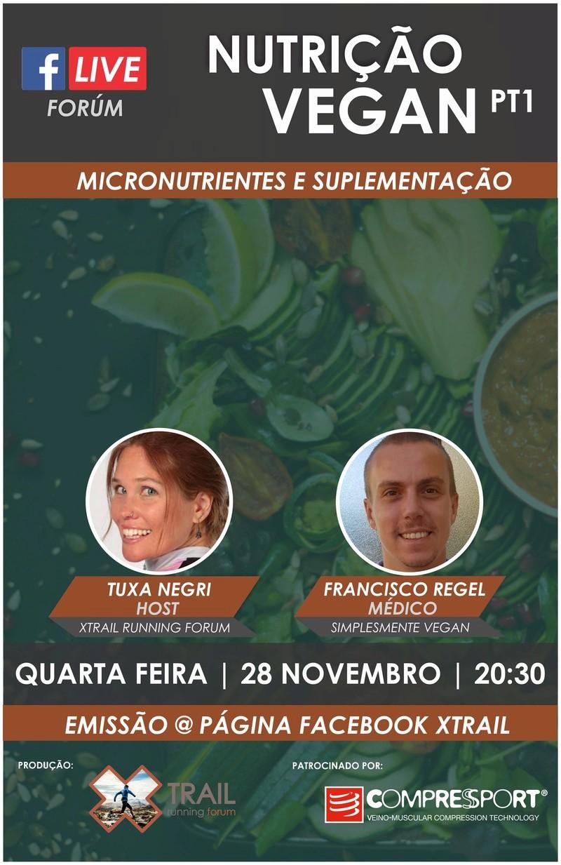 [Live Forum] Nutrição Vegan Pt1 Banner20
