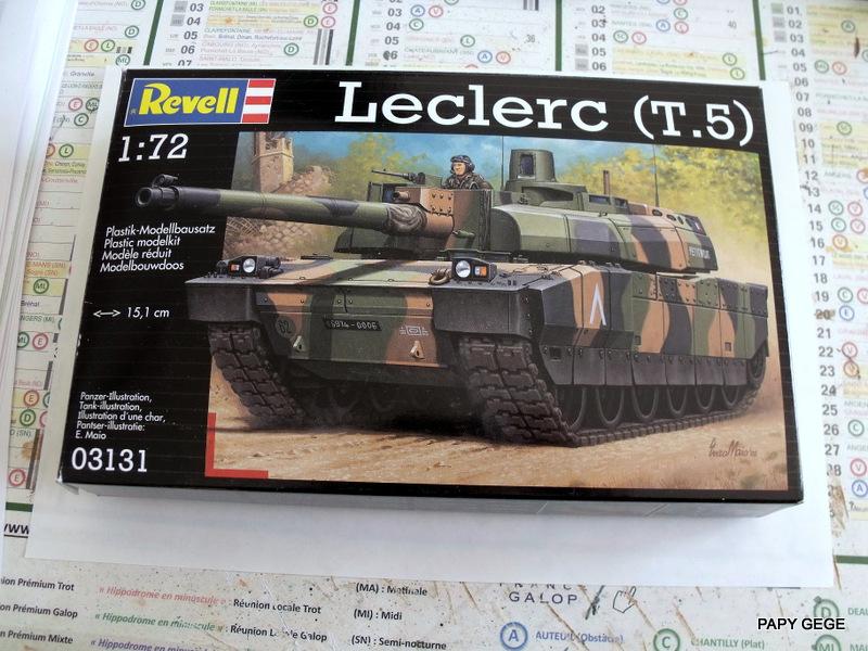 CHAR LECLERC  T5 au 1/72 Revell 1-1-le10