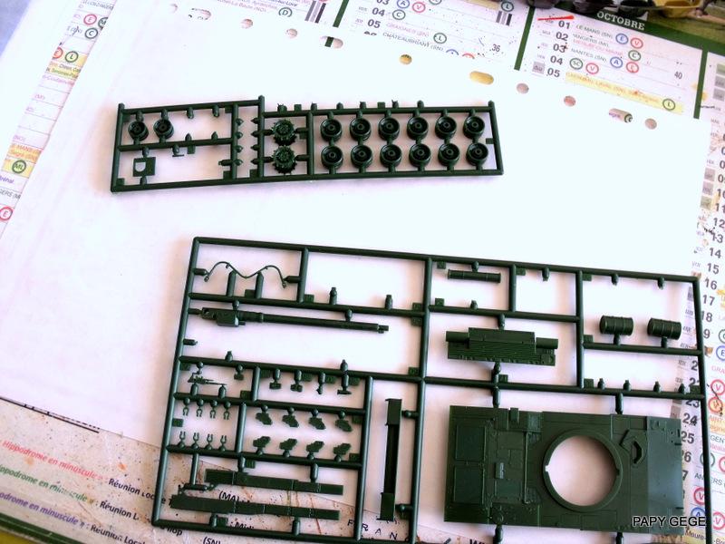 CHAR LECLERC  T5 au 1/72 Revell 2-2-le10