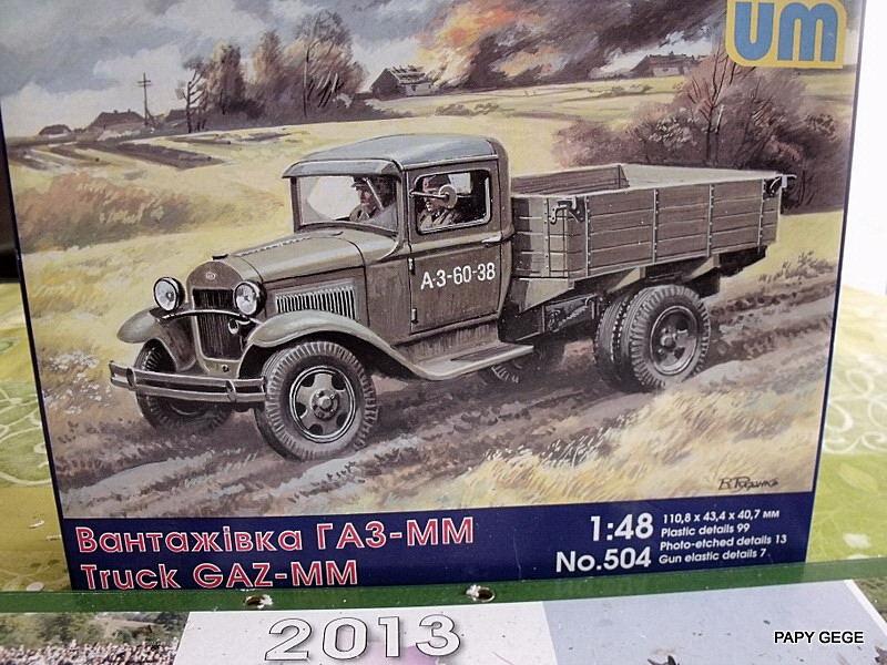 Truck GAZ MM au 1/48 de chez UM Gaz_mm16