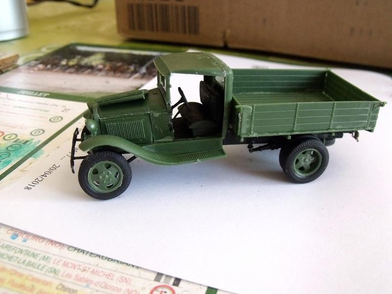 Truck GAZ MM au 1/48 de chez UM Gaz_mm40