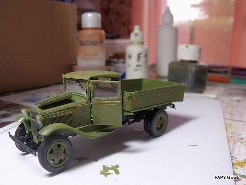Truck GAZ MM au 1/48 de chez UM Gaz_mm44