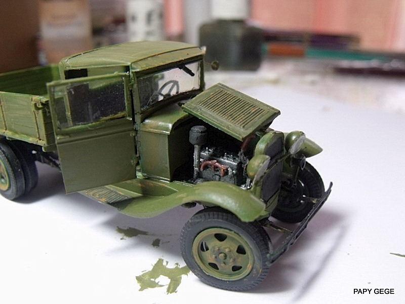 Truck GAZ MM au 1/48 de chez UM Gaz_mm45