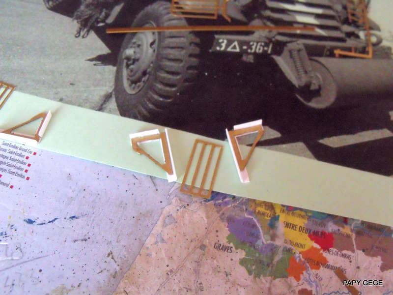 HALF-TRACK M3 TRANSPORT DE TROUPE au 1/50 + M3 AMBULANCE Half_t29