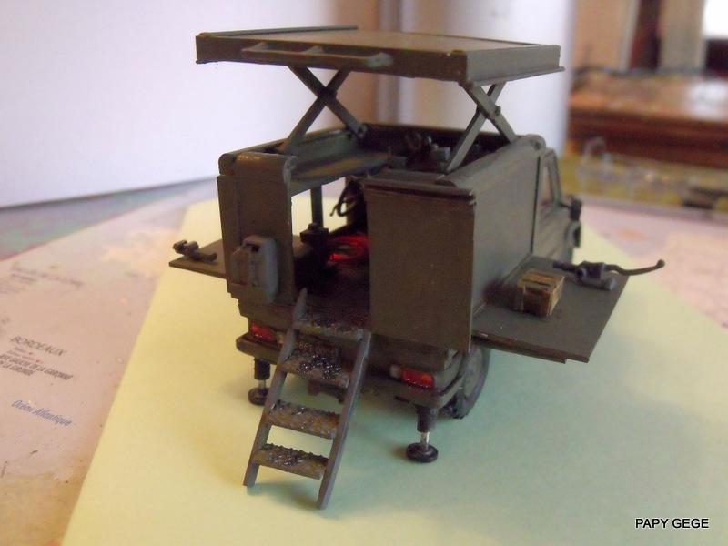 Peugeot P4 Atelier au 1/43 en scratch  - Page 2 P4at4810