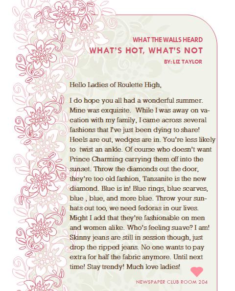 What the Walls Heard (The School Paper) Liz_110