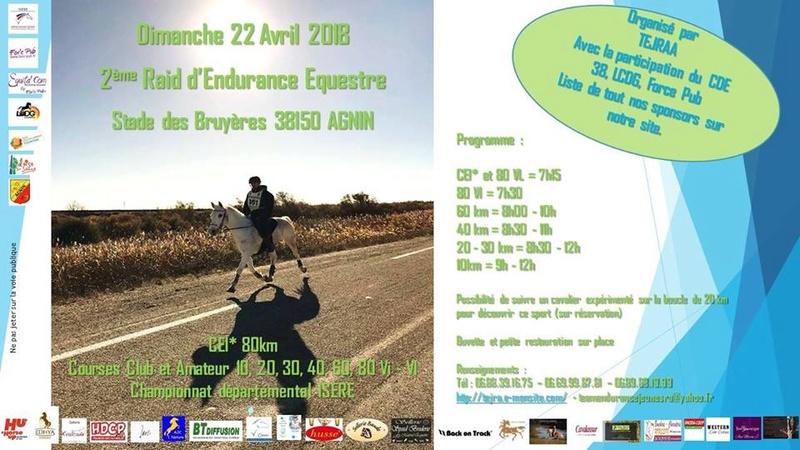 22 avril : endurance sur Agnin Affich11