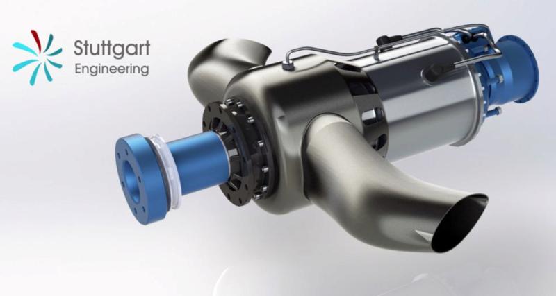 Une turbine pour nos MCR Captur10