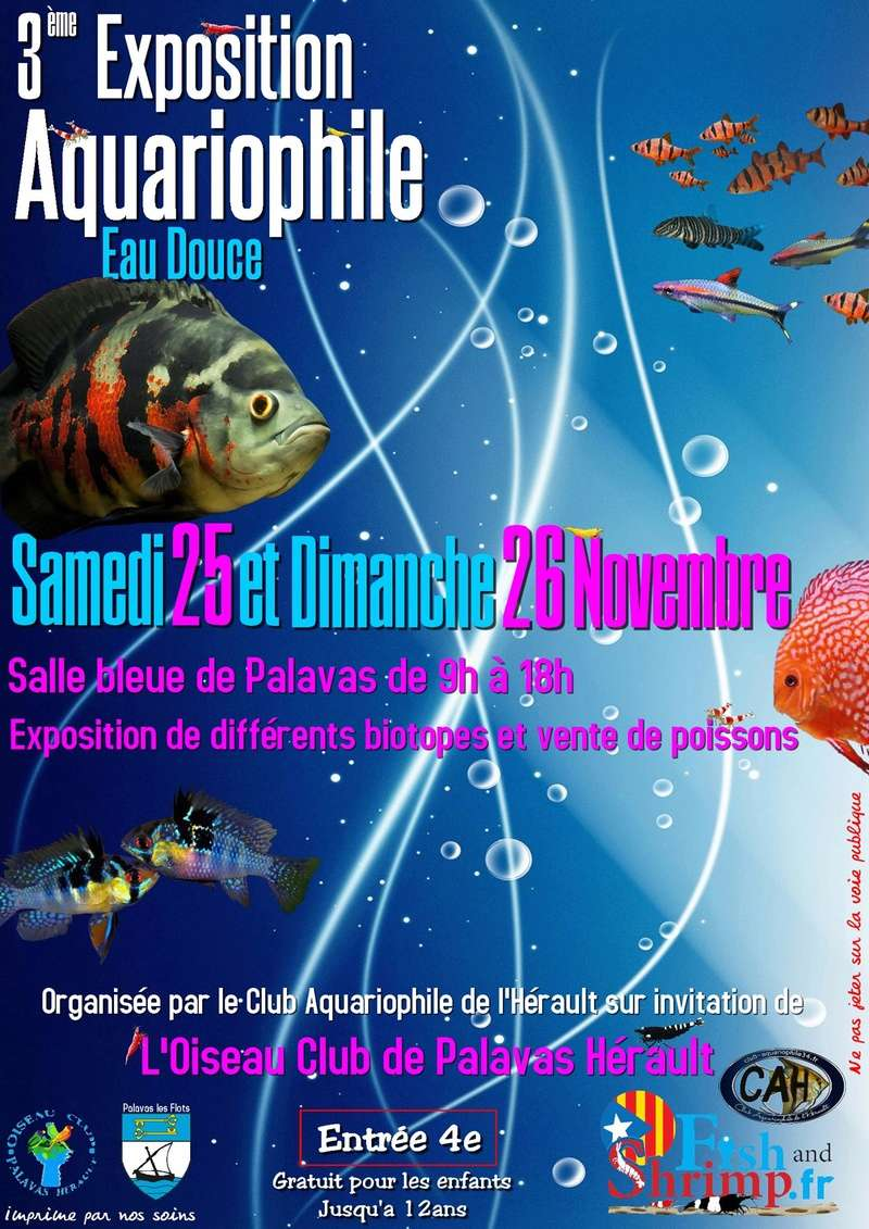 3éme Exposition Aquariophile du CAH à Palavas les Flots 22528913