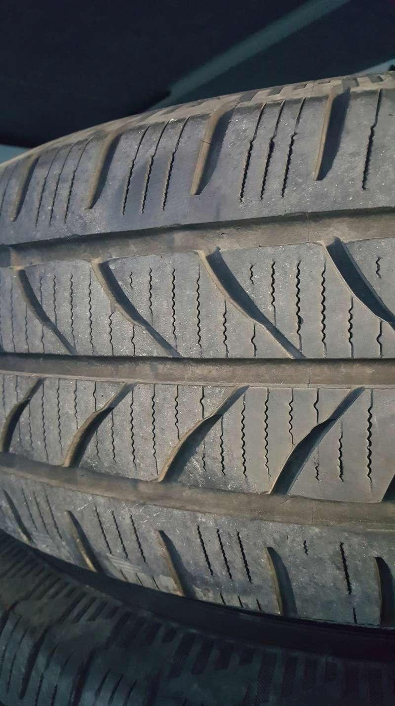 Vendu - 5 pneus neige + amortisseur Avant - Arriere 20180517