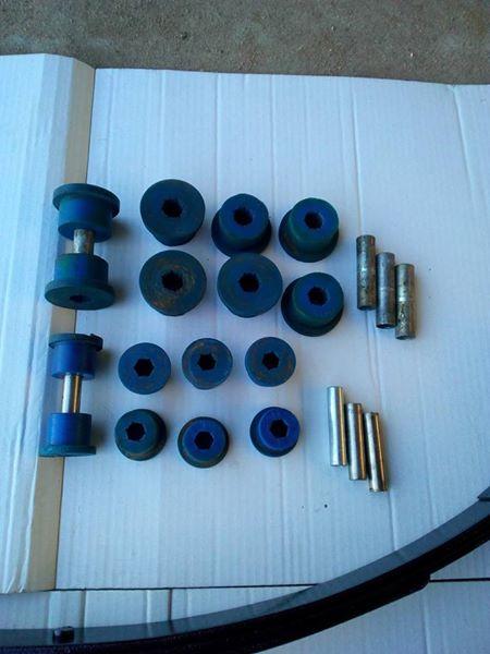 Conjunto molas Samurai com casquilhos de poliuretano Conjun11
