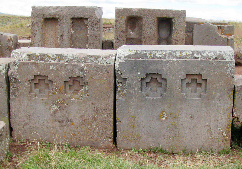 Complejo Tiwanaku Pumapunku (Tiahuanaco - Puma Punku) Pumapu22