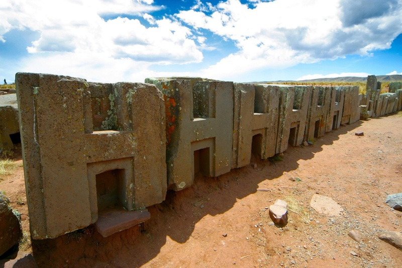 Complejo Tiwanaku Pumapunku (Tiahuanaco - Puma Punku) Tiwana11