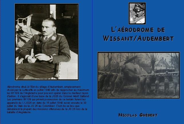 Livre en Souscription , Histoire de L'AÉRODROME DE WISSANT 2011-010