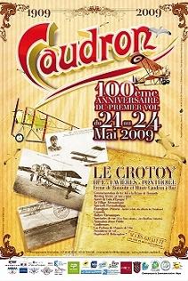 LE CROTOY centenaire des fréres Caudron Affich10