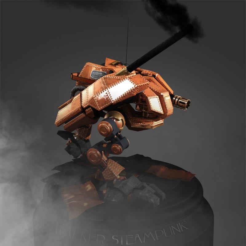 Cody : Walker steampunk Image_10