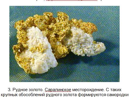 Золотые самородки Центральной Сибири 310