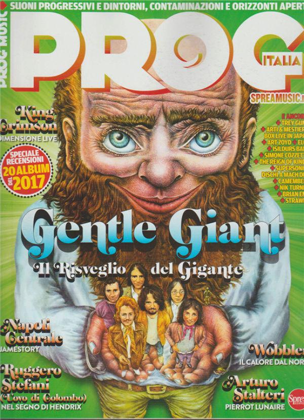 Esce in edicola: PROG ITALIA Magazine. Indexf11