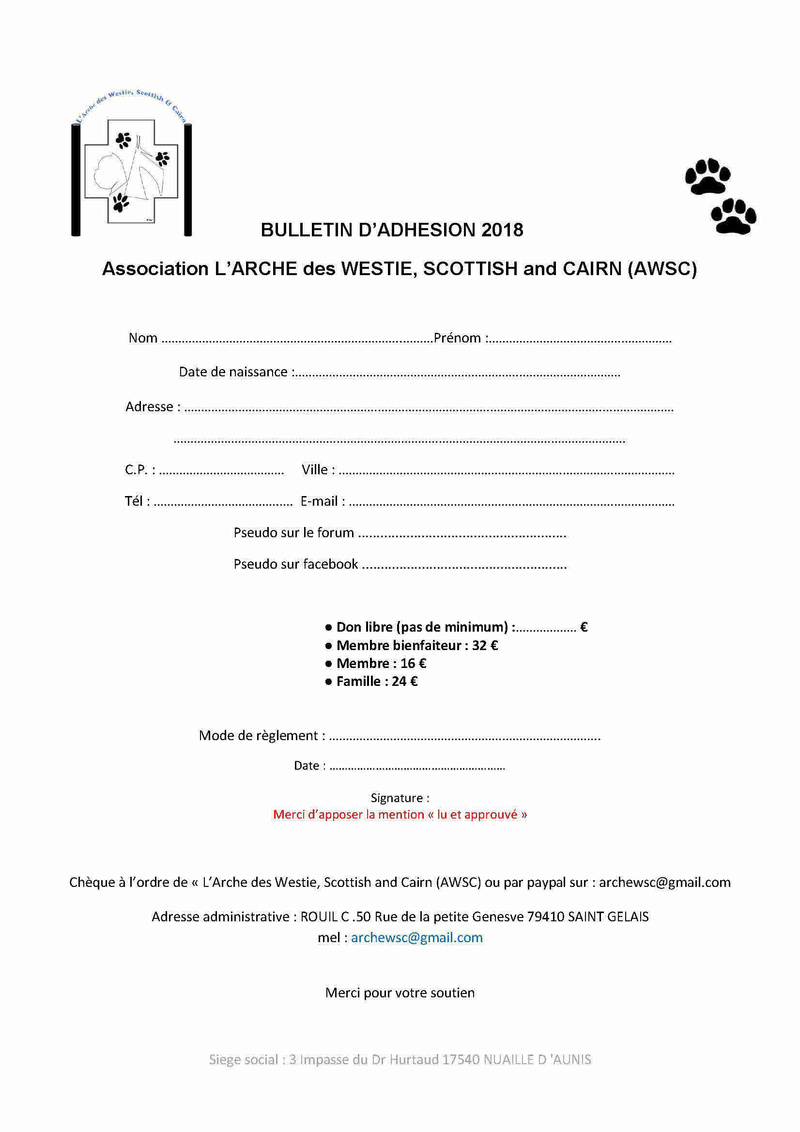 Nous aider en adhérant Bullet10