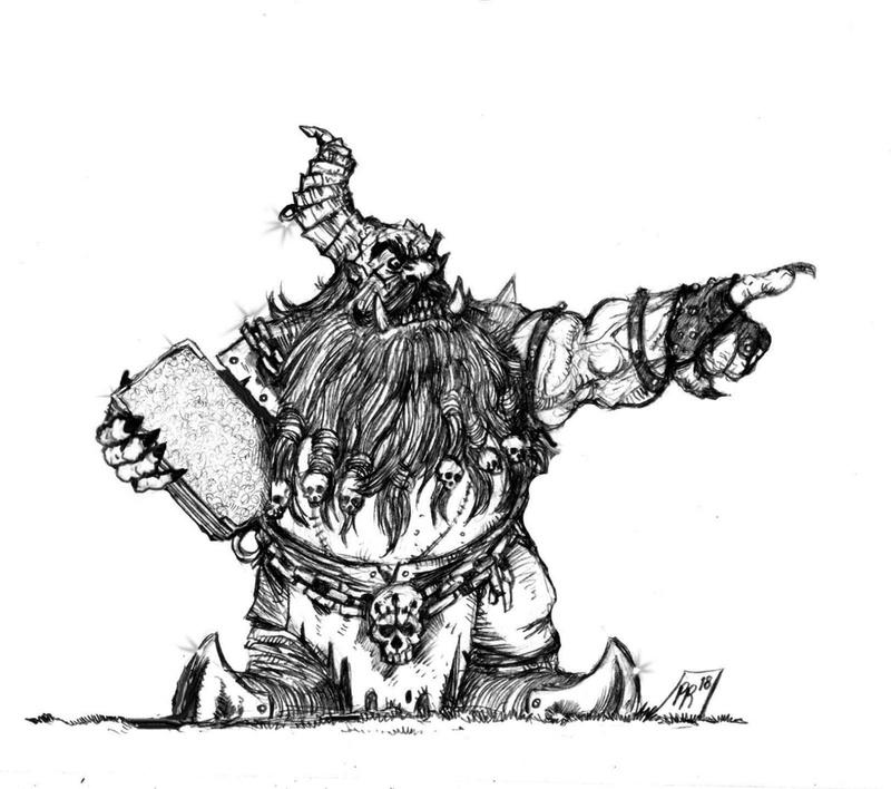 [Kickstarter] Enanos del Caos - Goblin Guild Miniatures Coach10