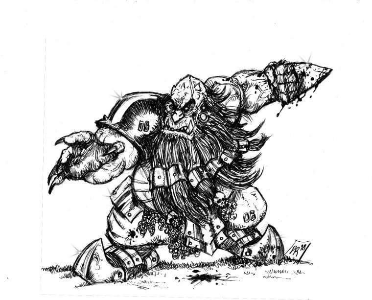[Kickstarter] Enanos del Caos - Goblin Guild Miniatures Def0111
