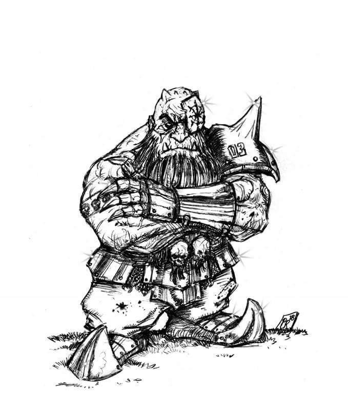 [Kickstarter] Enanos del Caos - Goblin Guild Miniatures Def0210