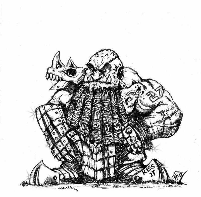 [Kickstarter] Enanos del Caos - Goblin Guild Miniatures Def0310