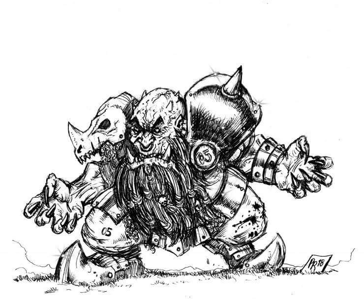 [Kickstarter] Enanos del Caos - Goblin Guild Miniatures Def0510