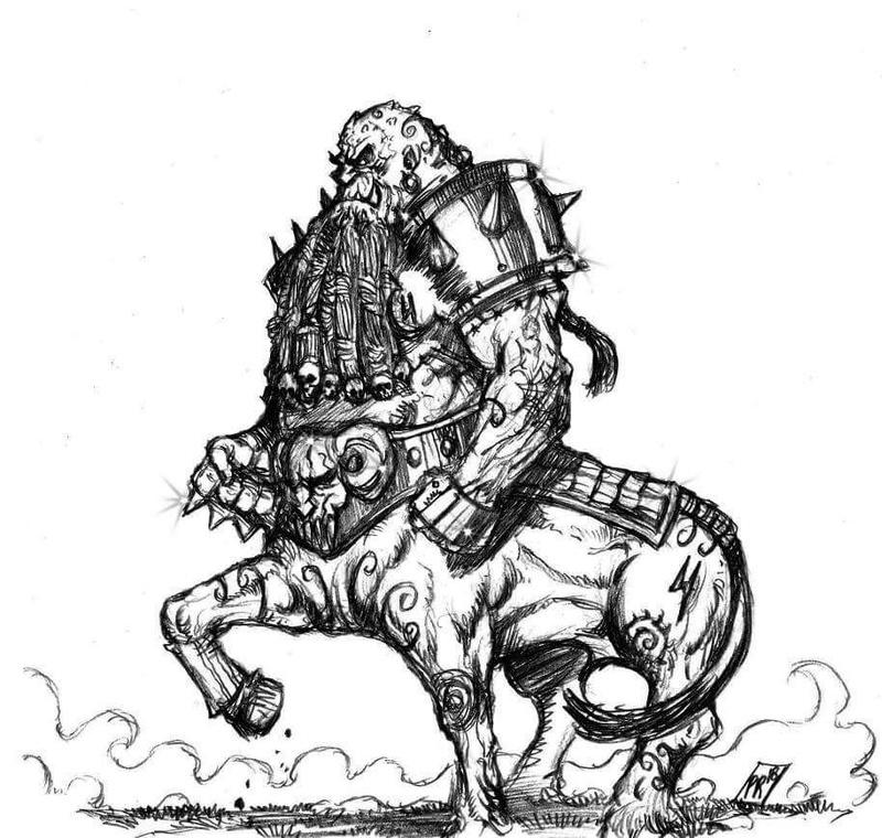 [Kickstarter] Enanos del Caos - Goblin Guild Miniatures Dwkokm10