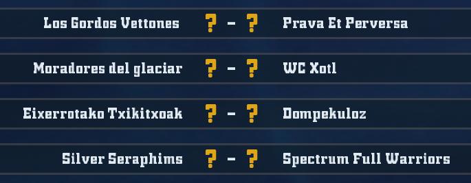 WC2018 - Grupo 8 / Jornada 5 - hasta el domingo 13 de mayo G811
