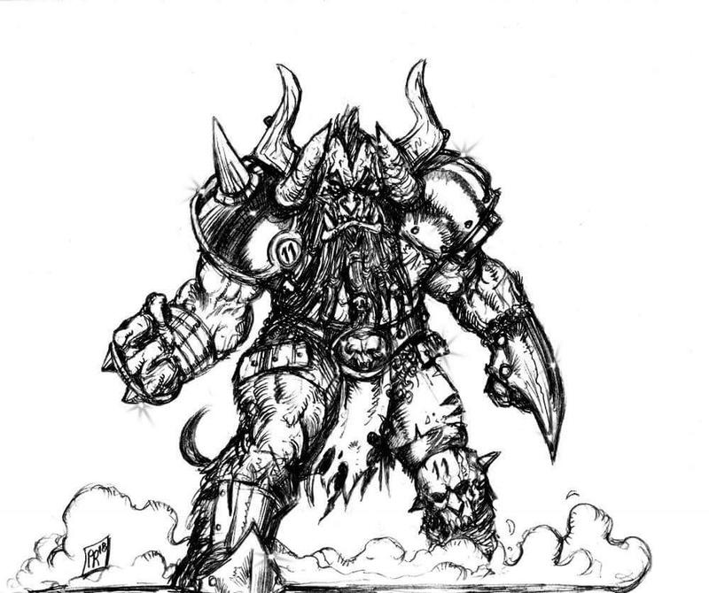 [Kickstarter] Enanos del Caos - Goblin Guild Miniatures Lam10