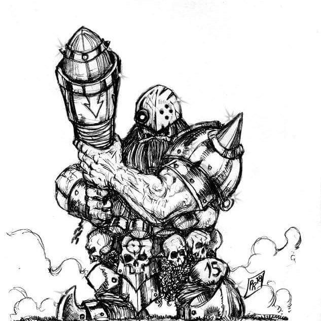 [Kickstarter] Enanos del Caos - Goblin Guild Miniatures Star10